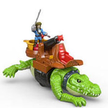 Fisher-Price Imaginext Walking Croc and Pirate Hook