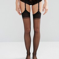 Jonathan Aston Seduction Set Stockings and Suspender at asos.com