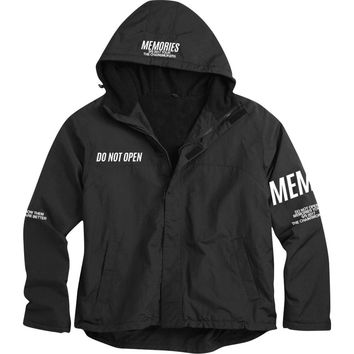 Chainsmokers Men's  Memories Windbreaker Black
