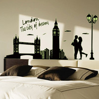 "Luminous ""London City of Dreams"" DIY Wall Sticker"