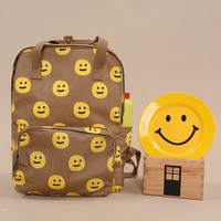 Tyakasha Park Smiley Face Big Backpack