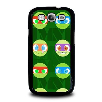 teenage mutant ninja turtles babies tmnt samsung galaxy s3 case cover  number 2