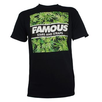 FAMOUS STARS & STRAPS 420 Hot Box Marijuana Logo T-Shirt