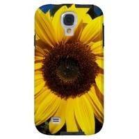 Sunny Sunflower Galaxy S4 Case from Zazzle.com