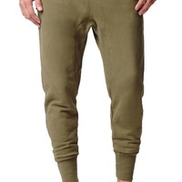 Reign+Storm Native Olive Fleece Jogger Pants - Mens Pants - Green