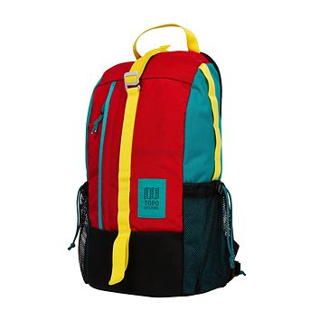 Topo Designs -  Red Unisex Backdrop Backpack