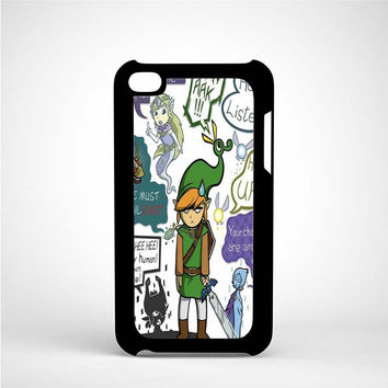 Zelda Art iPod 4 Case