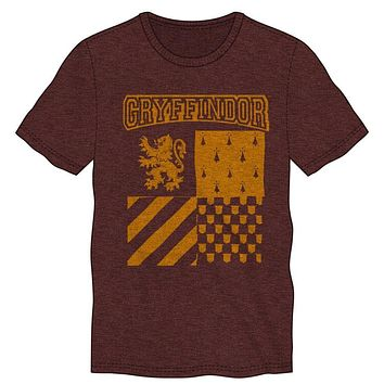 Harry Potter Gryffindor Element of Fire Men's Burgundy T-Shirt