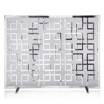 Fire Screen | Chic, Decorative Piazza Fire Screen | Z Gallerie