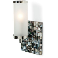 Regina Andrew Square Abalone Wall Sconce - 55-7641