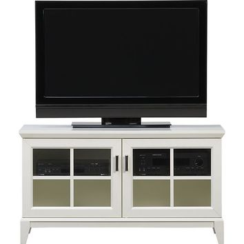 "Paterson White 48"" Media Console in Media Stands & Consoles 