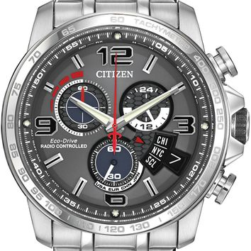Citizen Chrono Time AT Stainless Steel Watch BY0100-51H