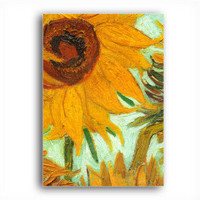 Stretched Canvas Handmade Sunflowers,c.1888 Painting by Vincent Van Gogh 0192-YCF103167 - $40.04