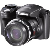 Canon - PowerShot SX-B 16.0-Megapixel Digital Camera - Black