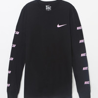 Nike SB Logo Black Long Sleeve T-Shirt at PacSun.com