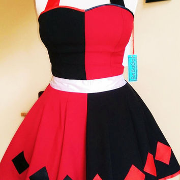 Harley Quinn Dress .