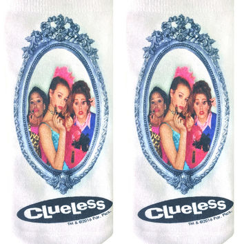 Clueless Girls Ankle Socks