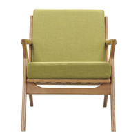 Zain Chair Avocado Green - Natural