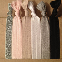 Ballerina Collection Set of 6 Softies hair ties by Opus 19