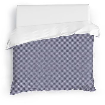 SHIKAKU PURPLE Duvet Cover By Tiffany Wong