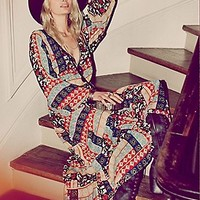 Free People  Kanako Print Maxi at Free People Clothing Boutique