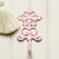 Wall Hook, Choose your Color, Single Wall Hook, Shabby Chic Wall Hook, French Country Wall Hook, Coat Hooks, Single Coat Hook, Regal Hooks