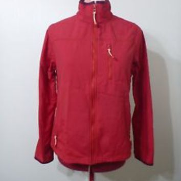 OLD NAVY red Lined Jacket, mesh pocket sporty look SIZE M
