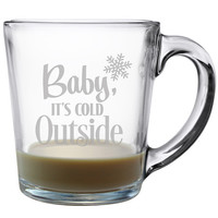 Baby It's Cold Outside Coffee Mugs - Set of 4