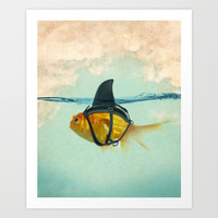 Brilliant DISGUISE Art Print by Vin Zzep