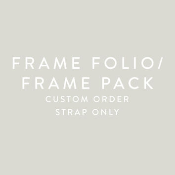 FramePack - Replacement Straps Only