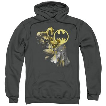 Batman - Bat Signal Adult Pull Over Hoodie