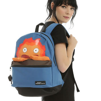 Studio Ghibli Howl's Moving Castle Calcifer Backpack