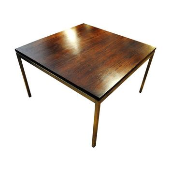 Pre-owned 1950s Florence Knoll Rosewood Square Side Table