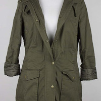 Carolina Utility Jacket | Olive Green
