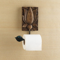 Lotus Square Tissue Holder        -              Home                    - Gaiam