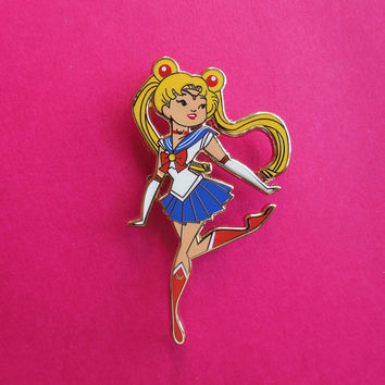 Sailor Moon Enamel Pin