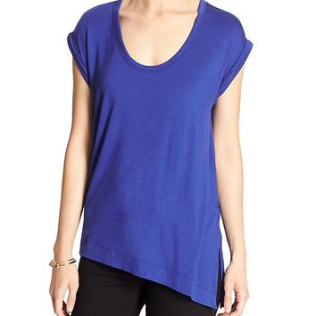 Banana Republic Womens Factory Split Hem Tee