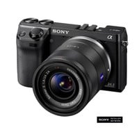 Sony NEX 7K/B 24.3MP Interchangeable Lens Camera with 18-55mm Lens - Black