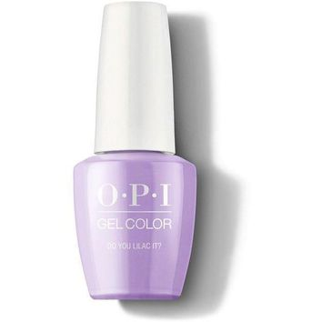 OPI GelColor - Do You Lilac It? 0.5 oz - #GCB29