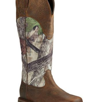Ariat Men's Conquest Waterproof Snakeproof Boots