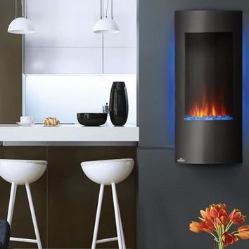 Napoleon Azure 38 NEFV38H Vertical Wall Hanging or Recessed Electric Fireplace