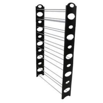 Shoe Rack for 50 Pair, Wall Bench, Shelf, Closet Organizer, Storage Box Stand,