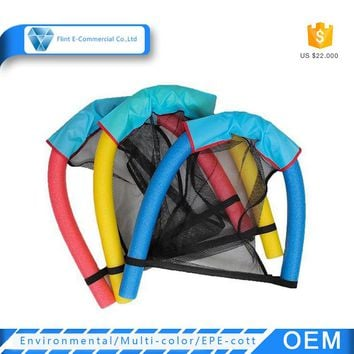 Water Sports Customized Swimming Pool Noodle Mesh Floating Inflatable Chair