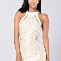 Tea Cake Dress - White