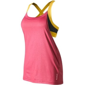 Reebok Women's Own Beat Long Bra Top