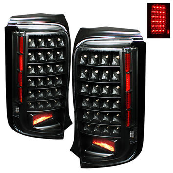 Scion XB 08-10 LED Tail Lights - Black