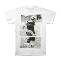 Bob Marley Men's  Soccer 77 T-shirt White