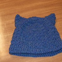 Cat Ear Hat - Crocheted