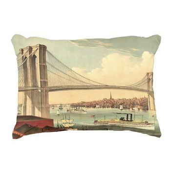 TEE Brooklyn Bridge Accent Pillow