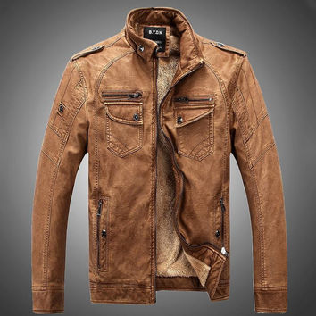 Pelt Men's Leather Jacket
